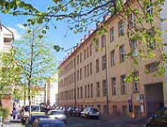 Fassade Gewerbezentrum Nürnberg
