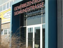 Eingang GZS Sigmundtstraße Nürnberg